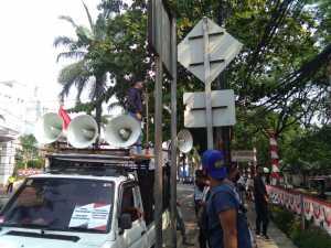 Masa AMPD Tuntut DPP Gerindra, Membatalkan Costan Oktemka Sebagai Bupati Pegunungan Bintang