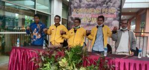 Persatuan Pemuda Mahasiswa Minang didampingi oleh perwakilan pemuda dari Aceh dan perwakilan pemuda dari Ambon. Foto: Arman/Jakarta.terkini.id.