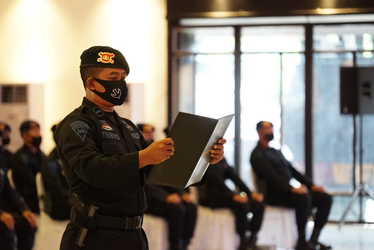 Korbrimob Polri Siap Melakukan Pengamananan saat Perayaan Natal dan Tahun Baru 2020-2021. Foto: Jakarta.terkini.id.